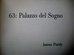 James Purdy, Palazzo del Sogno; Einaudi 1960: frontespizio. (part.), 2