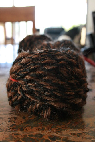 Bulky Weight Alpaca Spun By The Mr.