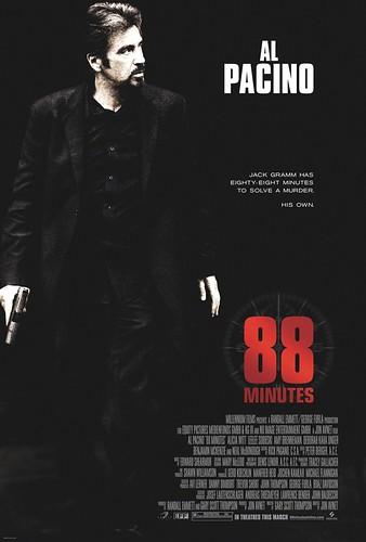 88 Minutes Poster, 88 Dakika Afiş