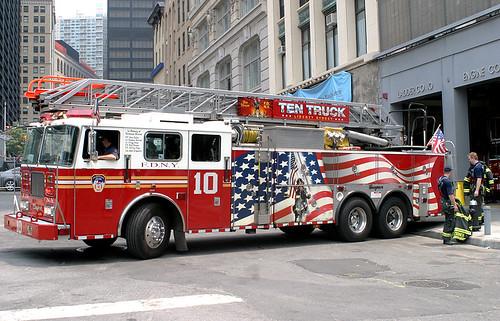 FDNY Ten Truck.  by code20photog.