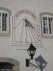 Sundial in the Québec Seminary, Québec city