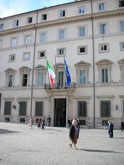 Piazza Colonna Palazzo Chigi