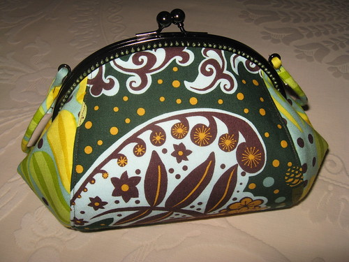 Teardrop purse - front by you.