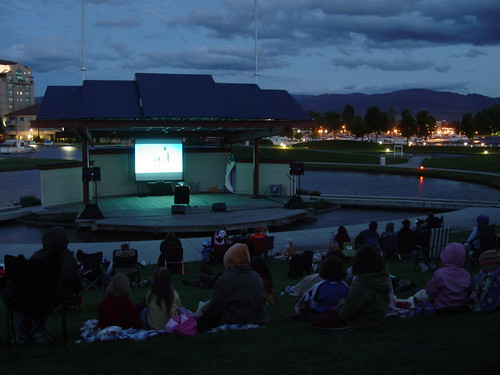 Outdoor Movies....