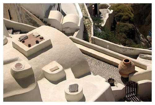Various objects on pp's roof-top by you.