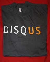 Disqus T-Shirt Found in BenSpark's Big Box of Awesome!