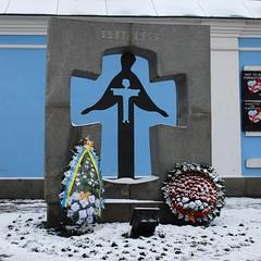 Denkmal für den Opfern der Hungersnot in Jahre...