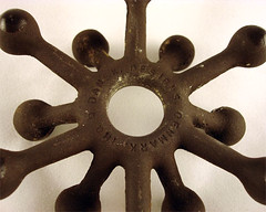 """Dansk Designs """"Spider"""" Candle Holder - Closeup"""