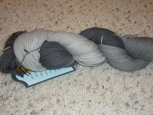 Aussi Sock Yarn silver