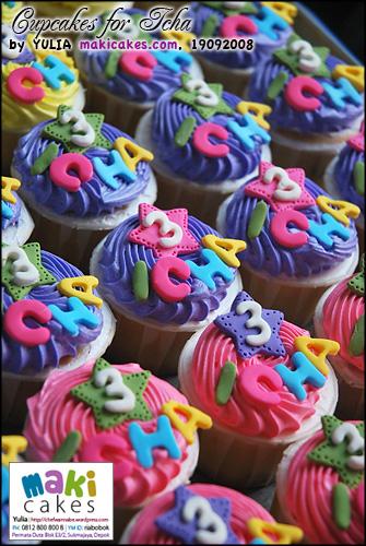 Cupcakes for Icha_ - Maki Cakes