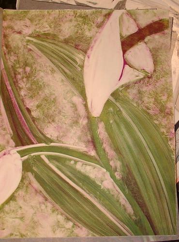 calla lilly mono type