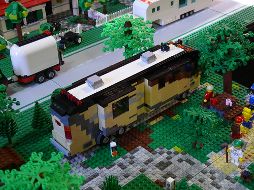 Motorhome on BayLUG layout