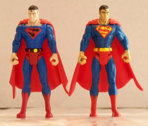 Kingdom Come Superman and Classic Superman