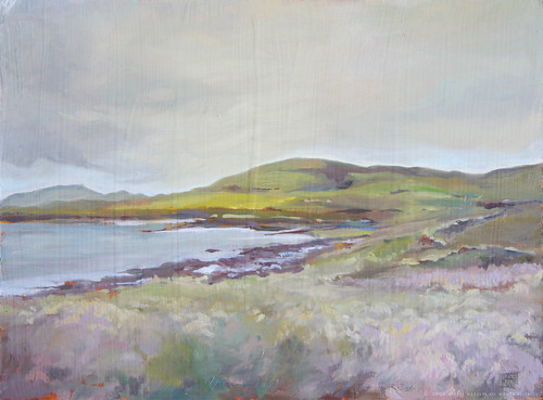 Finished Painting ~ Orphir, Orkney
