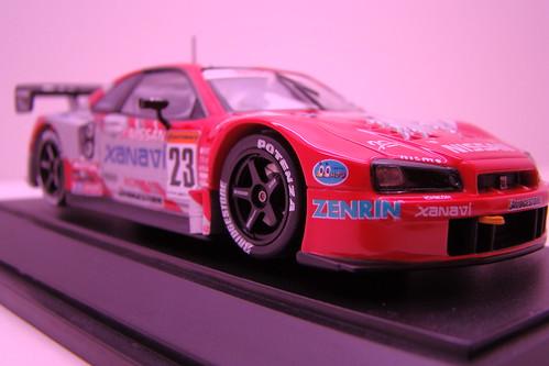 Ebbro 2003 Xanavi / Motul Nissan Skyline R34's