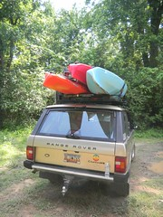 Kayaks on the Rover