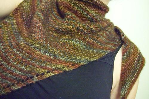 eye of partridge shawl