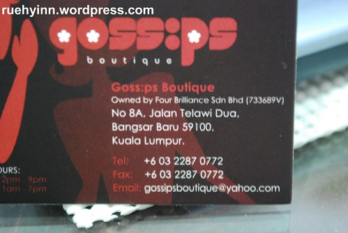 Gossip contact