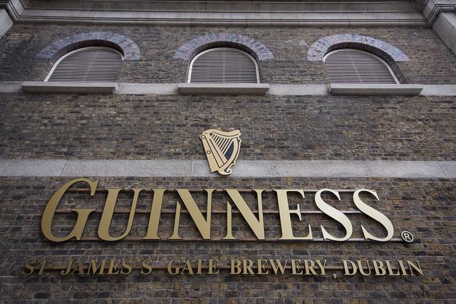 Guinness brewery Dublin