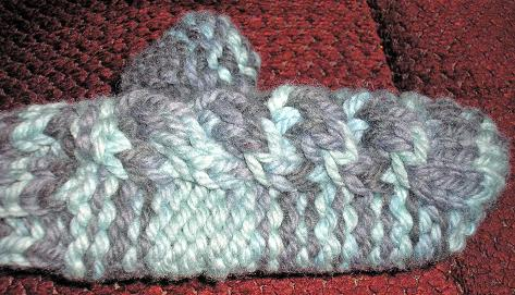 Arctic Cable Mittens (8)