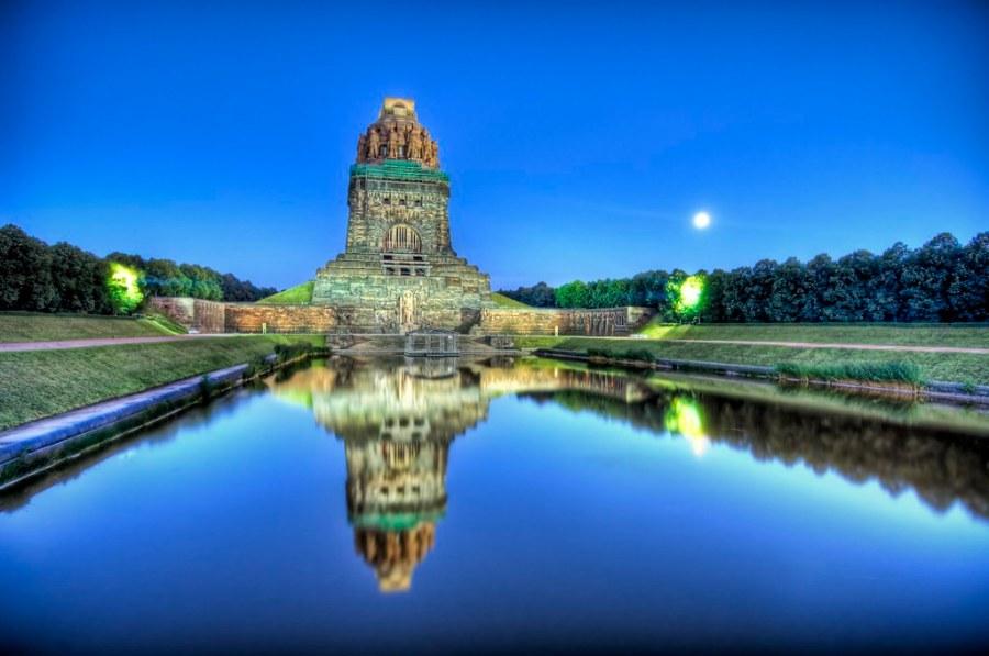 The Ultimate German War Memorial at Dusk