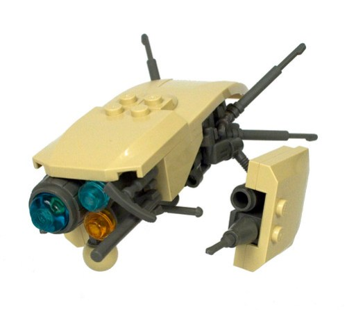 LEGO Alien Space Probe Auction for the Red Cross