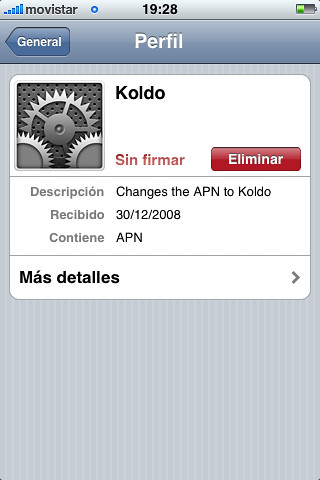 Cómo desactivar el GPRS de tu iPhone 3G