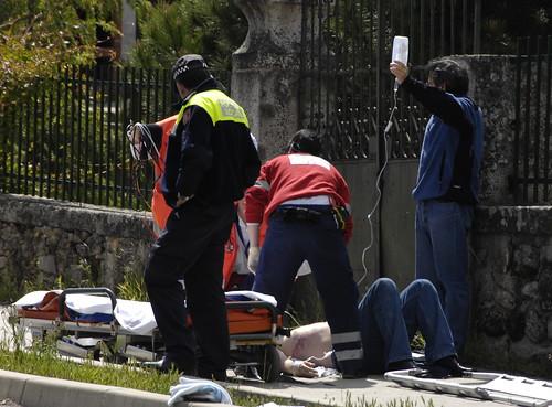Foto de accidente. Pedro L. Merino