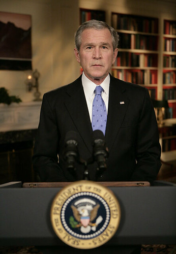 20070110 George W. Bush by Image Editor.