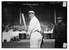 [Jim Thorpe, New York NL, at Polo Grounds, NY ...