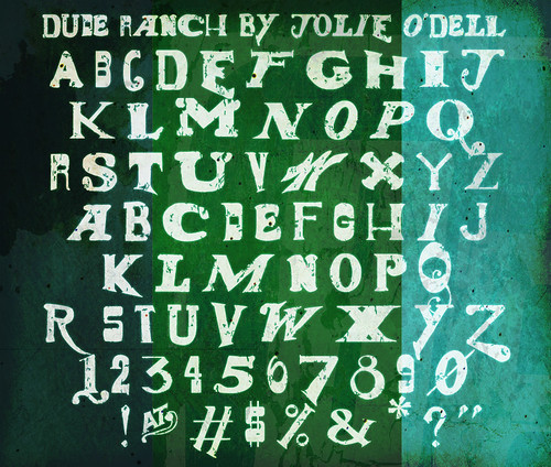 Dude Ranch Font