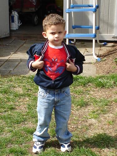 I am Spiderman!!!!