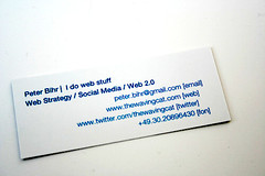 my moo card