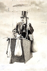 Portrait of Felix Nadar (1820-1910), Photographer and Aeronautical Scientist
