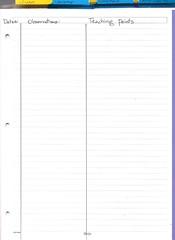 Conferring Notebook