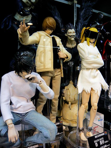 L, Light/Kira, Ryuk, Misa (from Death Note)