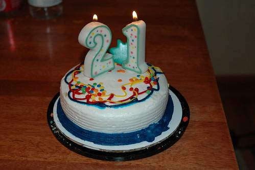 J's 3rd birthday cake mess up