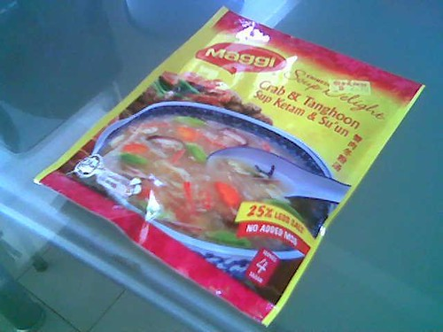 Maggi's packet soup