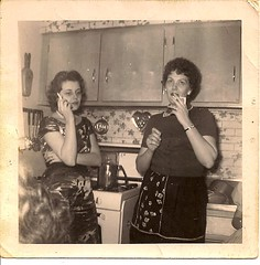 1961 suburban glam grandma.