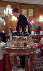 Champagne Cart