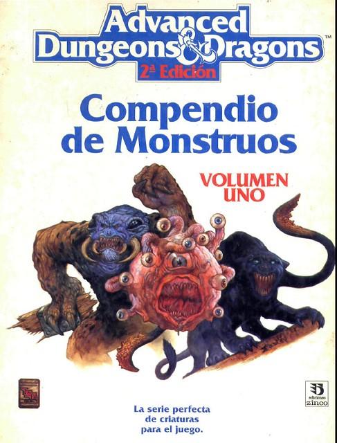 Compendio de Monstruos vol.1