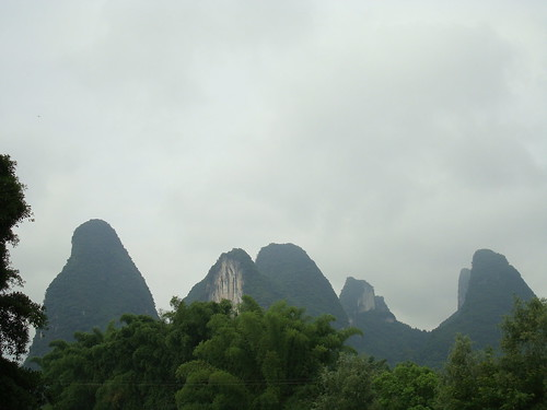 limestone karsts, yangshuo
