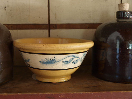 Yellow Bowl, circa 1850