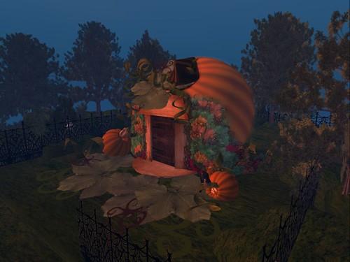 Petite Maison Citrouille