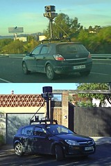 Google Street view Car en la Costa del Sol
