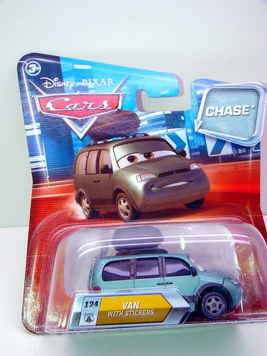 disney cars lenticular chase van with stickers (1)