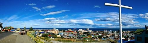 Überblick auf Punta Arenas