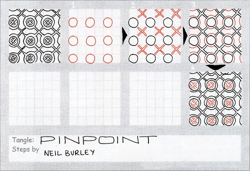Pinpoint - tangle pattern by perfectly4med