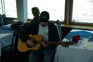 Sean Mcgaughey tuning up