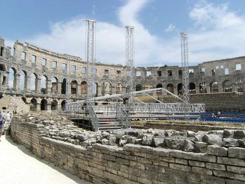 Inside Amphitheater
